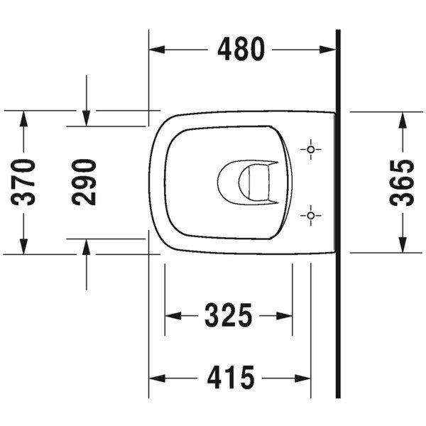 унитаз durastyle 257109 схема